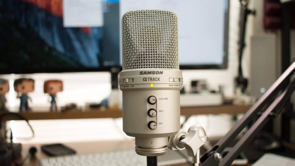 Mikrofon do YouTube