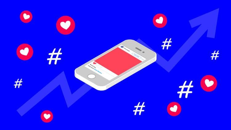 Popularne hasztagi a popularny Instagram
