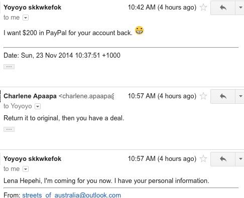 hacker ukradł konto na instagramie