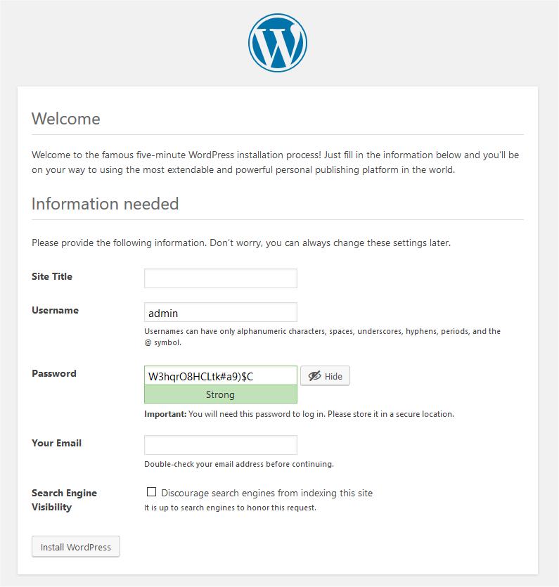 jak zainstalować wordpress